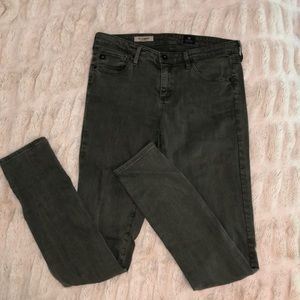 Army green AG jeggings